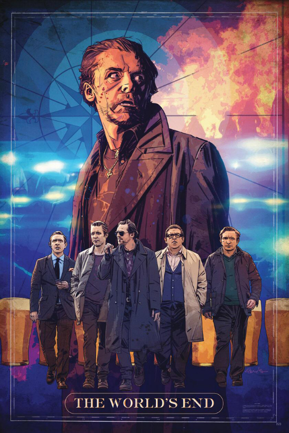 The World's End Comic Con Poster