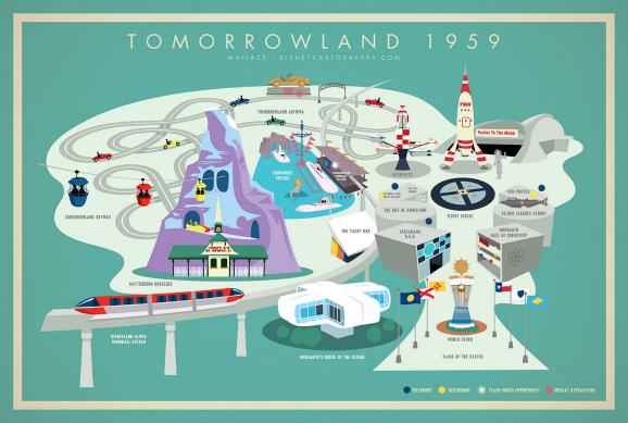 Tomorrowland map