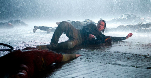World War Z in the rain
