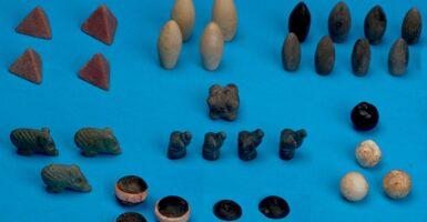ancient gaming stones