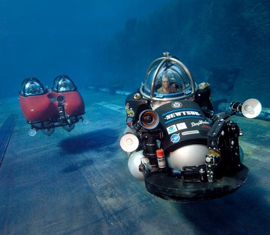 microsubmersibles