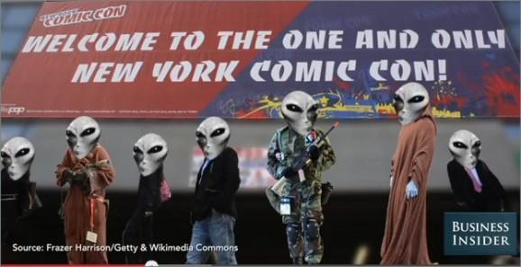 Aliens at Comic Con