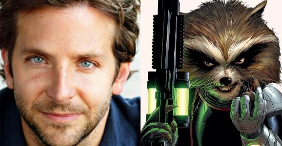 Bradley Cooper Is Rocket Raccoon