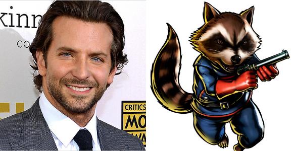 Bradley Cooper - Rocket Raccoon