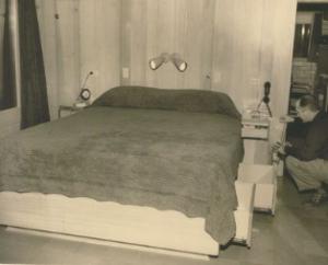 Heinlein's bed