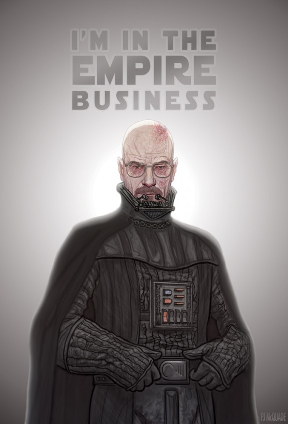 Darth Heisenberg Needs No Introduction, But Say His Name ...