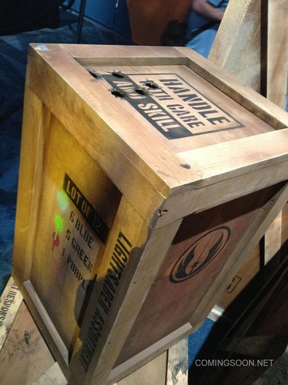 lightsaber crate