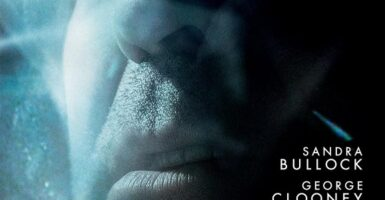 gravity poster clooney