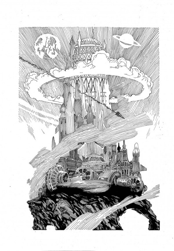 space mountain graphic novel