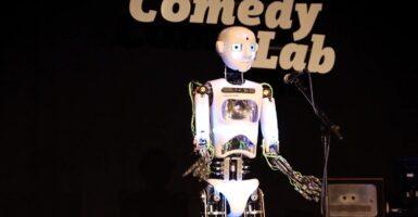 robot stand up
