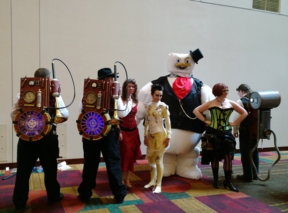 steampunk ghostbusters