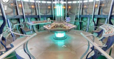 TARDIS Easter egg