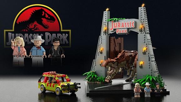 lego jurassic park set