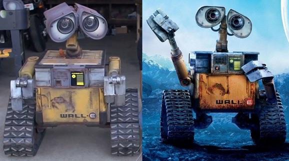 wall-e comparison