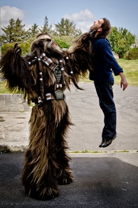 wookiee cosplay so good you�d swear it was from lucasfilm