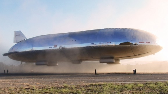 This new aluminum airship may represent the future of travel