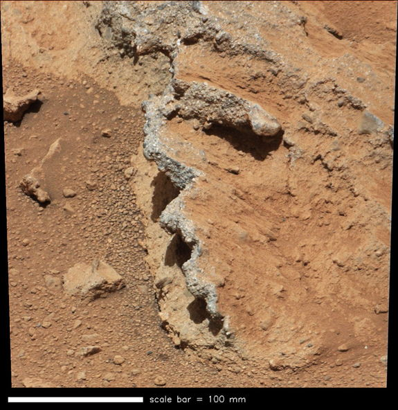 Curiosity pebbles