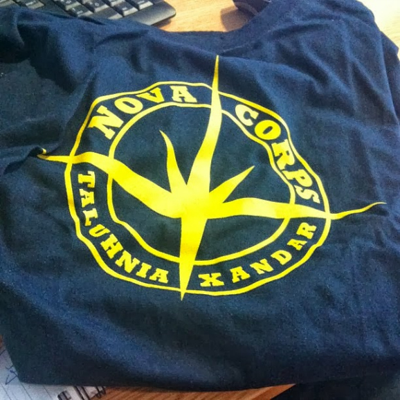 nova corps t-shirt