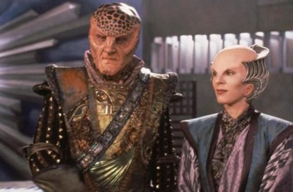 G'Kar and Delenn