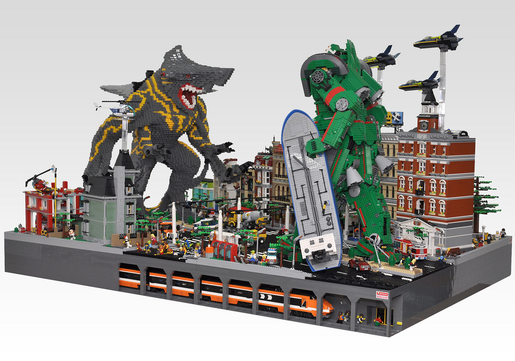 Pacific Rim Vfx Video Breakdown And Lego Battle Scene
