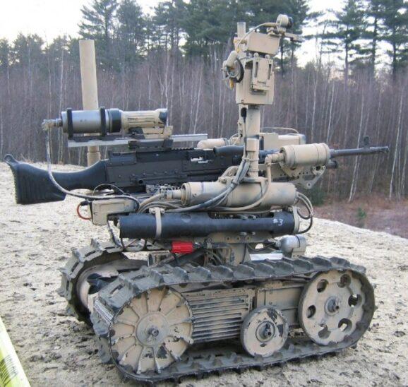 SWORDS robot