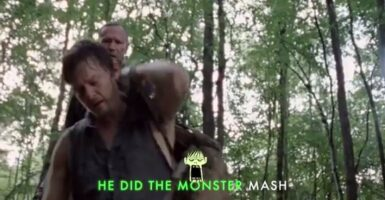 walking dead monster mash