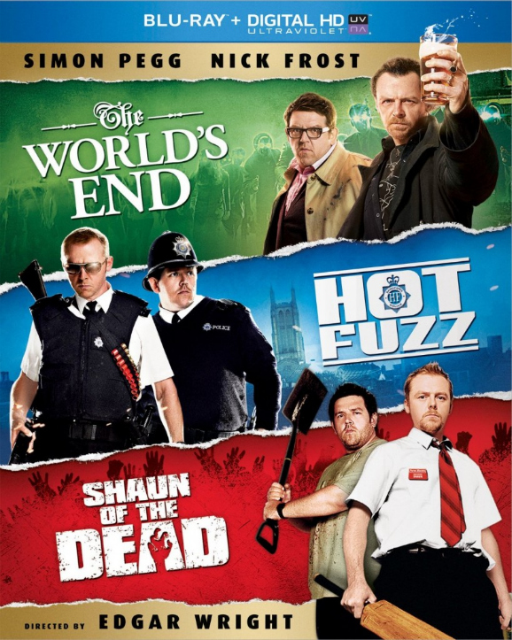 The Three Flavours Cornetto Trilogy by EvieClare on DeviantArt