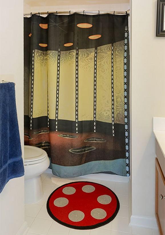 star trek shower curtain