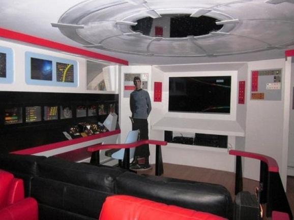 star trek basement