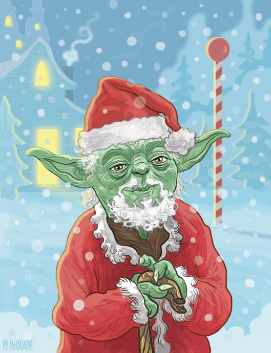 pj mcquade christmas star wars