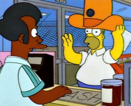 Homer Spy hat