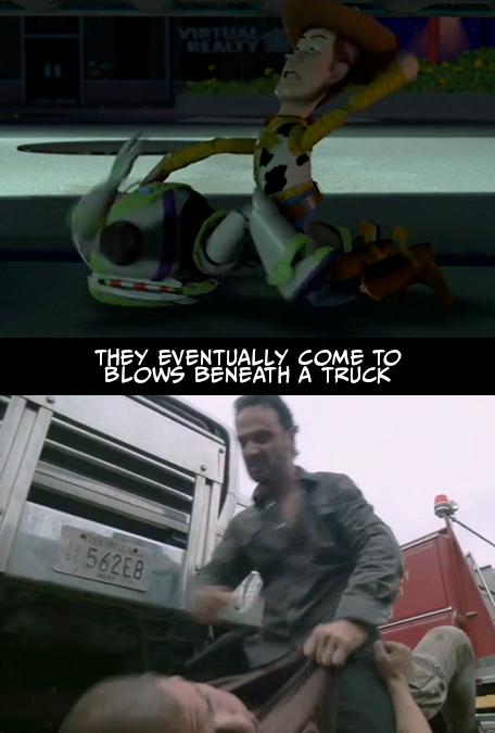 Walking Dead Toy Story