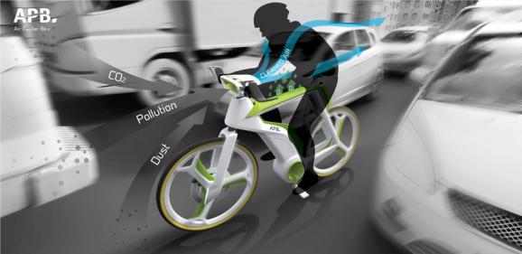 air purifying bike