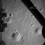 Descent photo of lunar surface (Dec 14)