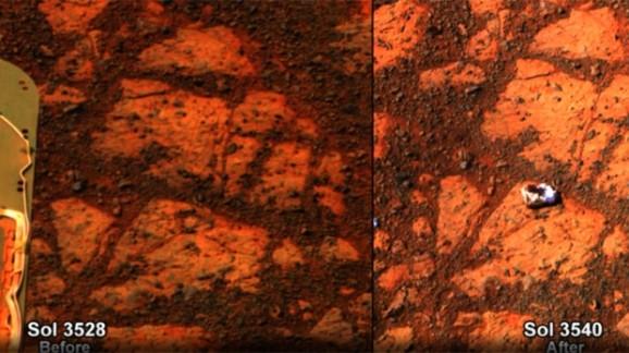 Mars rock