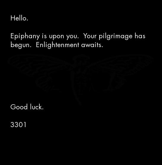 Cicada 3301 image