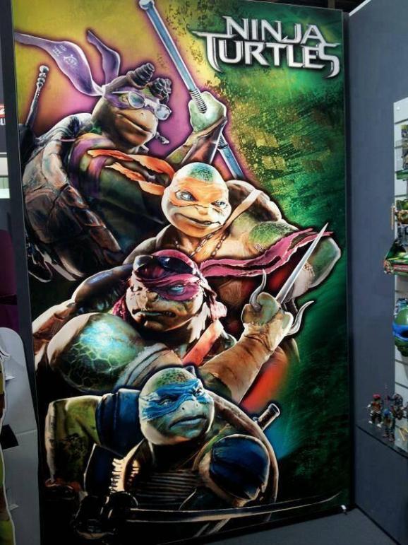 TMNT banner art