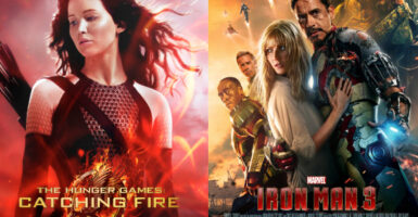 The Hunger Games: Catching Fire VS. Iron Man 3