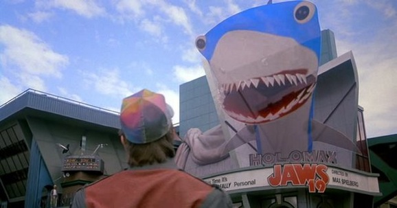 Back to the Future II Jaws