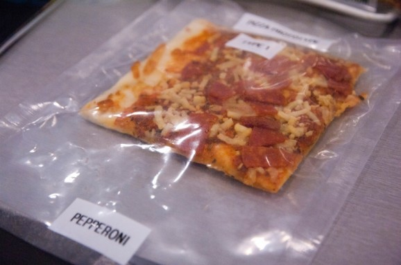 MRE pizza