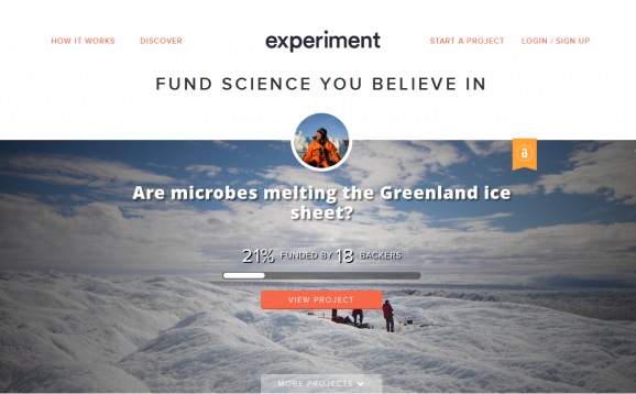 experiment homepage