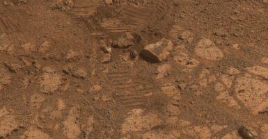 mystery rock site