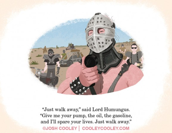 road warrior childrens book