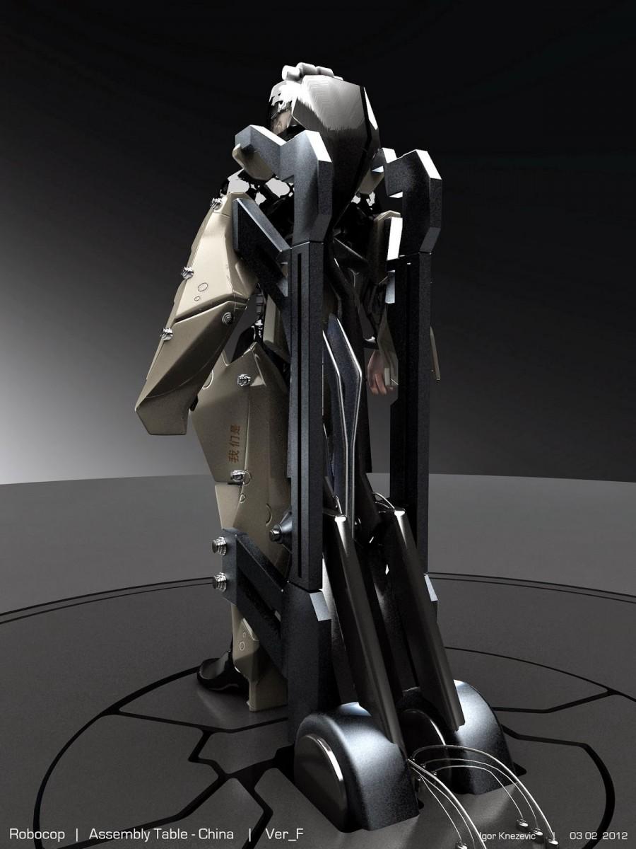 robocop concept art features the freakiest scene from the