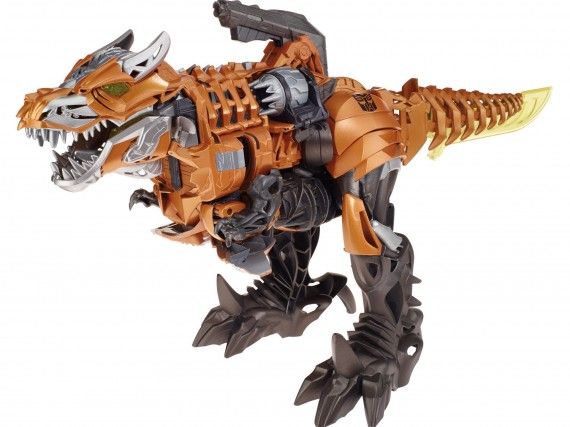 Transformers age of extinction toy 14 grimlock dinosaur - Dinosaure transformers ...