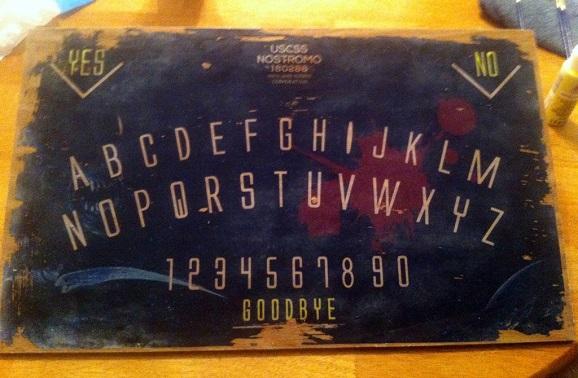 alien ouija board