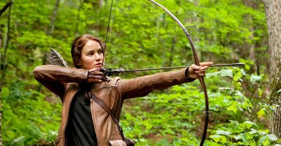 Katniss as a female sci-fi hero