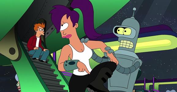 Futurama's sci-fi woman