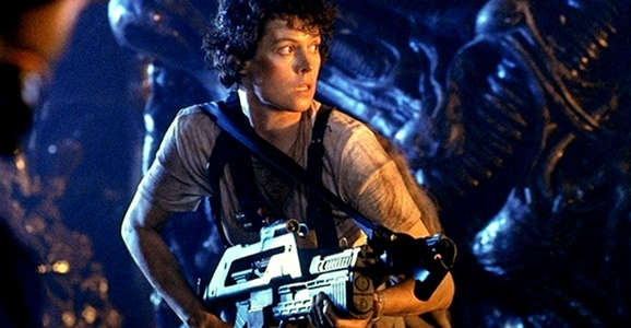 Ripley as a female sci-fi character