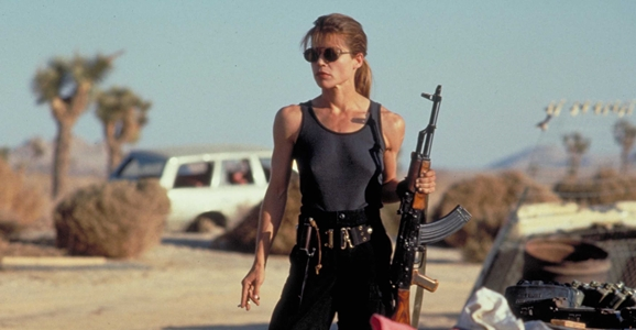 Sarah Connor as a Female Sci-Fi Character